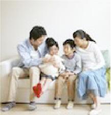 家族の笑顔を守る断熱材