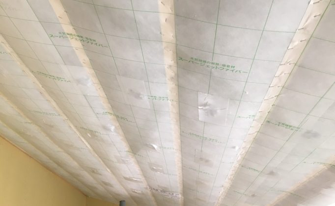 屋根(勾配天井)の施工について(事前準備編part1)